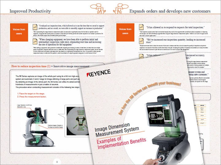 Image Dimension Measurement System Examples of Implementation Benefits (English)