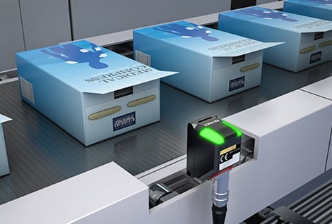 Hot Melt Detection on Cartons