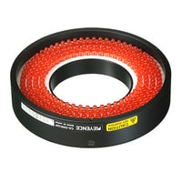 CA-DRR10F - Red Ring Light (Direct, Flat type) 100-50
