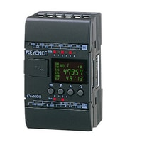 KV-10DR - Base Unit, DC Type, 6 Inputs and 4 Relay Outputs
