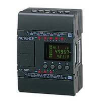 KV-16DR - Base Unit, DC Type, 10 Inputs and 6 Relay Outputs