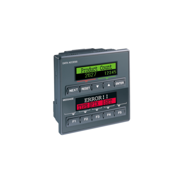KV-P series - Panel-mounted PLC with Built-in Display Functions